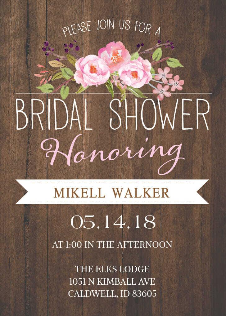 fa827845c9aa MCC Bridal Shower Invites - MCC Wedding Invitations   Cheap Wedding ...